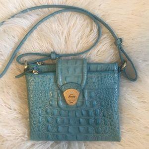 Brahmin Mojito crossbody Aqua Melbourne purse
